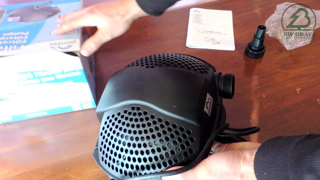 Pontec Filter und Bachlaufpumpe PondoMax Eco 2500