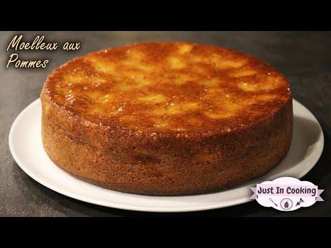 recette-de-gâteau-moelleux-pomme,-noisette-et-vanille