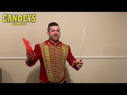 Plate spinning tutorial with Gandey's Ringmaster Joel! |