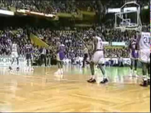 1992 93 NBA Season Lal@Bos Jan 31
