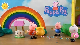 Peppa Pig Happy Family and Friends Stories with Messy Leprechaun, Vampirina and Amusement Park
