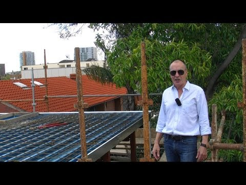 Watch How We're Turning This Adelaide CBD Rooftop Into An Idyllic Living Space