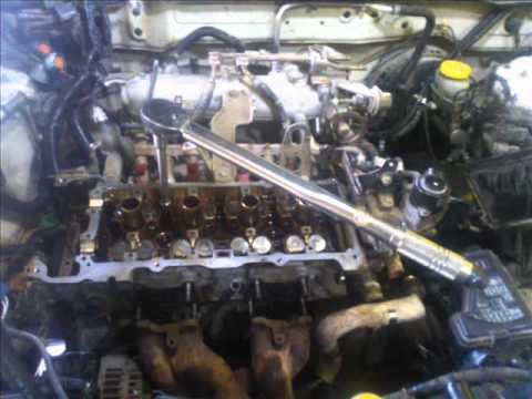 Motor Nissan 1 8 Lts  Cambio De Junta De Cabeza Head