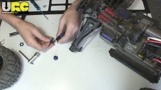 In the Workshop 6/6/13: E-Revo axle fix + new body