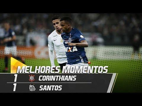 Corinthians 1 x 1 Santos | MELHORES MOMENTOS | Brasileirão (06/06/18)