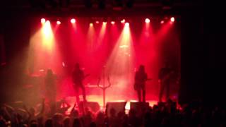 Satyricon - Intro / Voice of Shadows / Ageless Northern Spirit (@ Folken, Stavanger 14.09.2013)