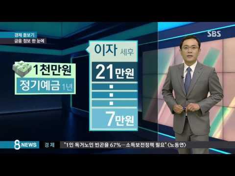 금융포털 '파인' 서비스 시작…금융 정보 한눈에 / SBS