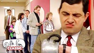 Mr Bean ၏ဆေးရုံမှအလွဲသုံးစားမှု!   မစ္စတာ Bean ကို Funny ကလစ်များ   ဂန္ထဝင် Mr Bean