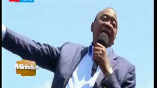 Naibu Rais William Ruto apata ujasiri wa kumjibu Rais Kenyatta | Mirindimo