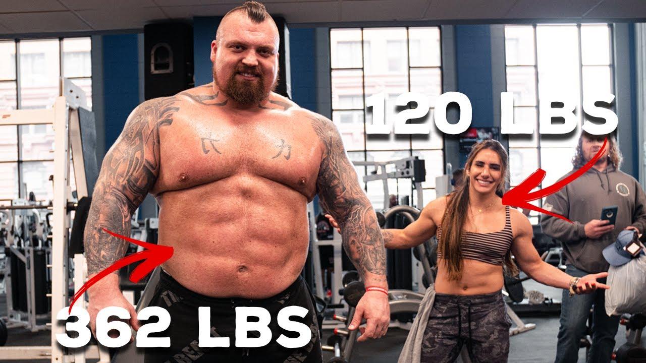 Powerlifter Vs Strongman | Ft Eddie Hall