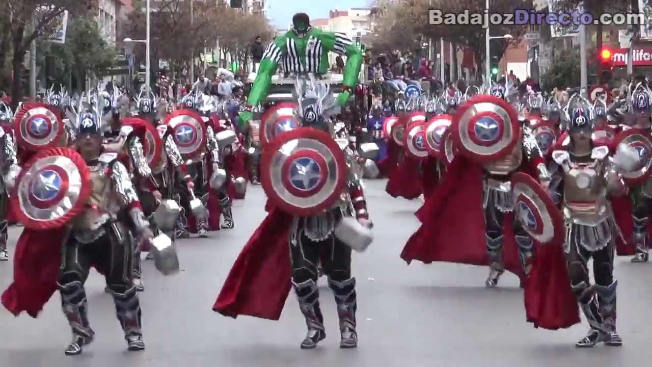 carnaval badajoz 2018 fotos