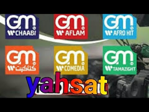تردد قنوات   GM  AFLAM GM MUSIC GM CHAABI GM على قمر yahsat
