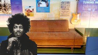 #922 JIMI HENDRIX Personal Family Memorabilia Exhibit at NAAM - Daily Travel Vlog (2/14/19)