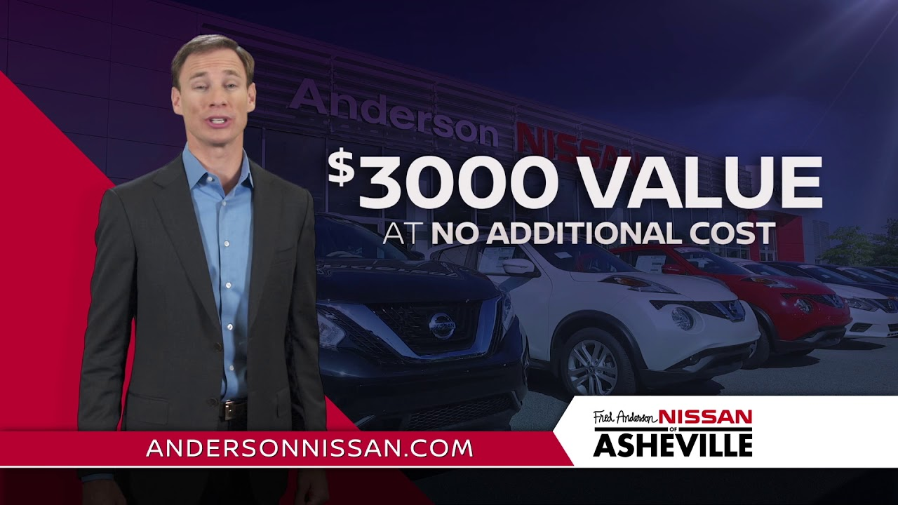 Fred Anderson Nissan Asheville >> Family Plan Fred Anderson Nissan Of Asheville