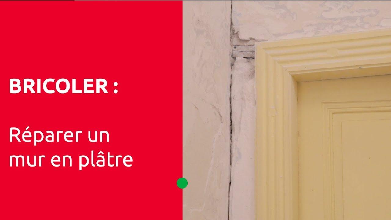 """le bricolage pour tous"""" - réparer un mur en plâtre - youtube"""
