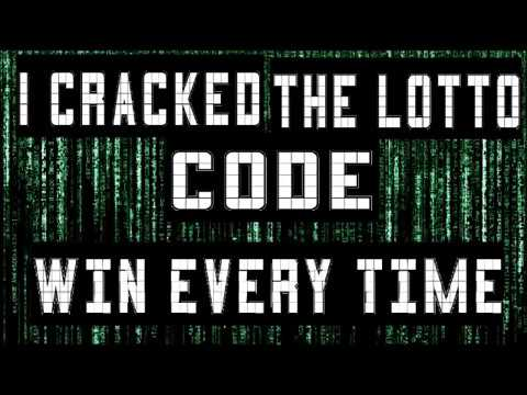 How to win the lottery guaranteed - I cracked The lotto code!