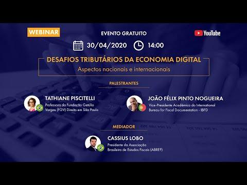 Desafios Tributários da economia digital - Aspectos nacionais e internacionais