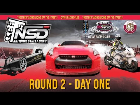 2017 Qatar National Street Drag Championship - Round 2 - Day One