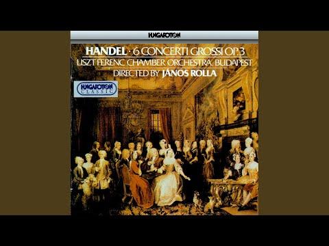 Concerto No. 2 in B flat major HWV 313: I. Vivace