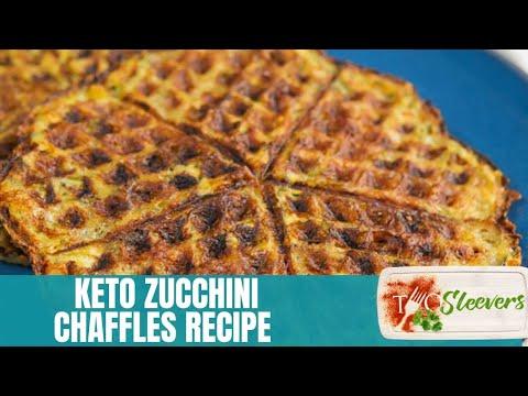 Keto Zucchini Chaffles | Keto Waffles