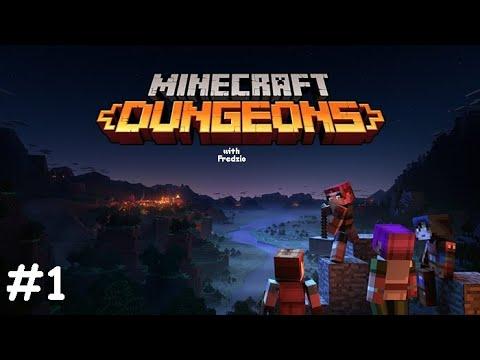 Początki...  Minecraft Dungeons 