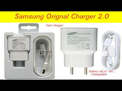 Samsung original fast charger ! हिन्दी मे!