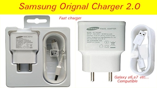 Samsung original fast charger ! Unboxing !