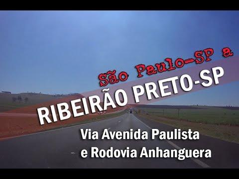 EM HD:São Paulo a Ribeirão Preto-SP via Rodovia Anhanguera e Avenida Paulista