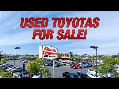 Toyotas For Sale In San Diego at Classic Chariots!
