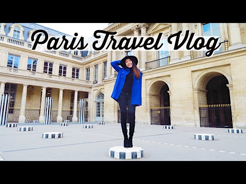PARIS TRAVEL VLOG 2017 | Palais Royal + Le Louvre