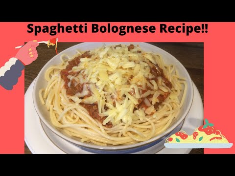 spaghetti-bolognese-recipe!!|easy-and-delicious