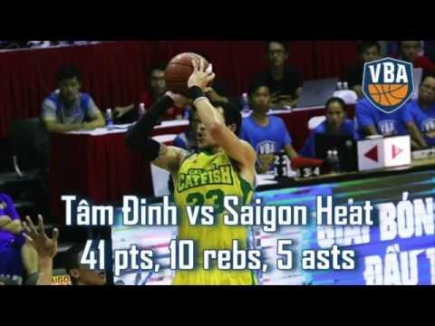[Hot Highlights] Tâm Đinh tạo kỷ lục mới với 41 điểm trận gặp Saigon Heat!
