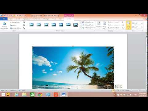 How to crop a picture on a PC