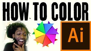 HOW TO COLOR - Tutorial | Adobe Illustrator