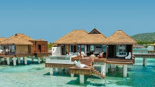 We delivered | Over-the-water Villas and Bungalows...