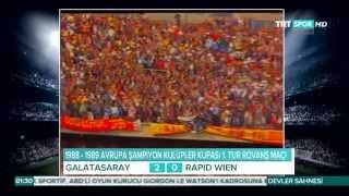 1988-89 Avrupa Şampiyon Kulüpler Kupası, Galatasaray'ın bütün maçları