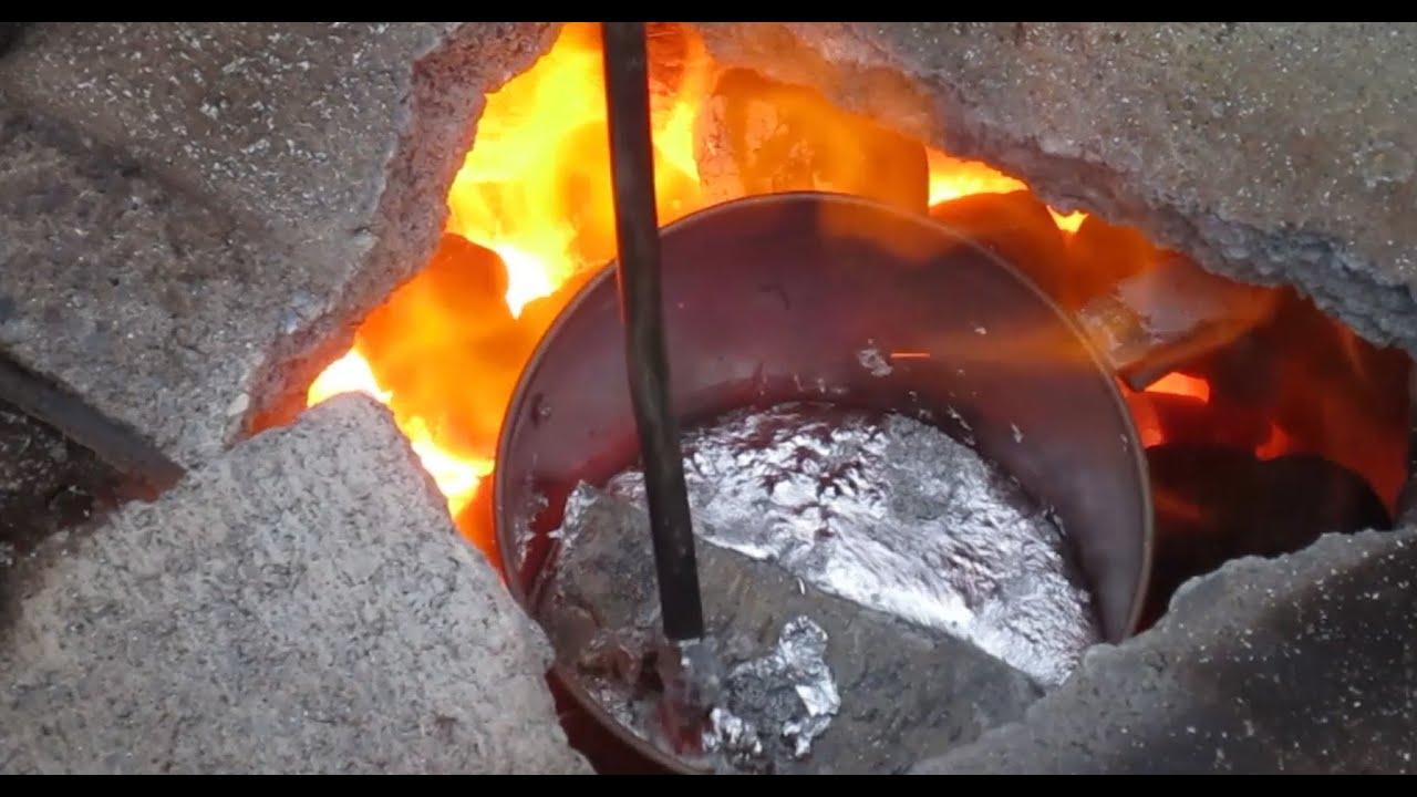 Turn 3d Prints Into Aluminum w/ DIY Blast Furnace - Part 2 ...