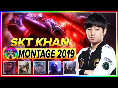 SKT T1 Khan Montage - Best of Khan 2019