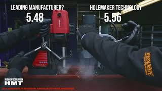 HMT CarbideMax Annular Cutters VS Rotabroach - head-to-head