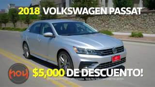 Hoy Family Auto $5,000 Off 2018 VW Passat April Special Spanish [HD]
