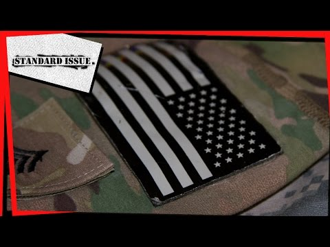 Why Are US Military Uniform Flags Reversed?