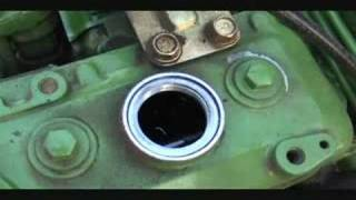 John Deere 750 Tractor Yanmar Engine No Blow-By Demo