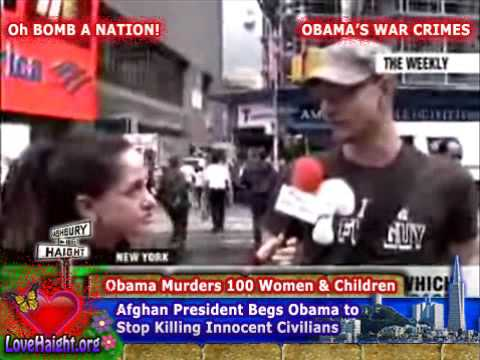 ☠ OBAMA THE WAR CRIMINAL ☠  Killing More Civilians Than Bush