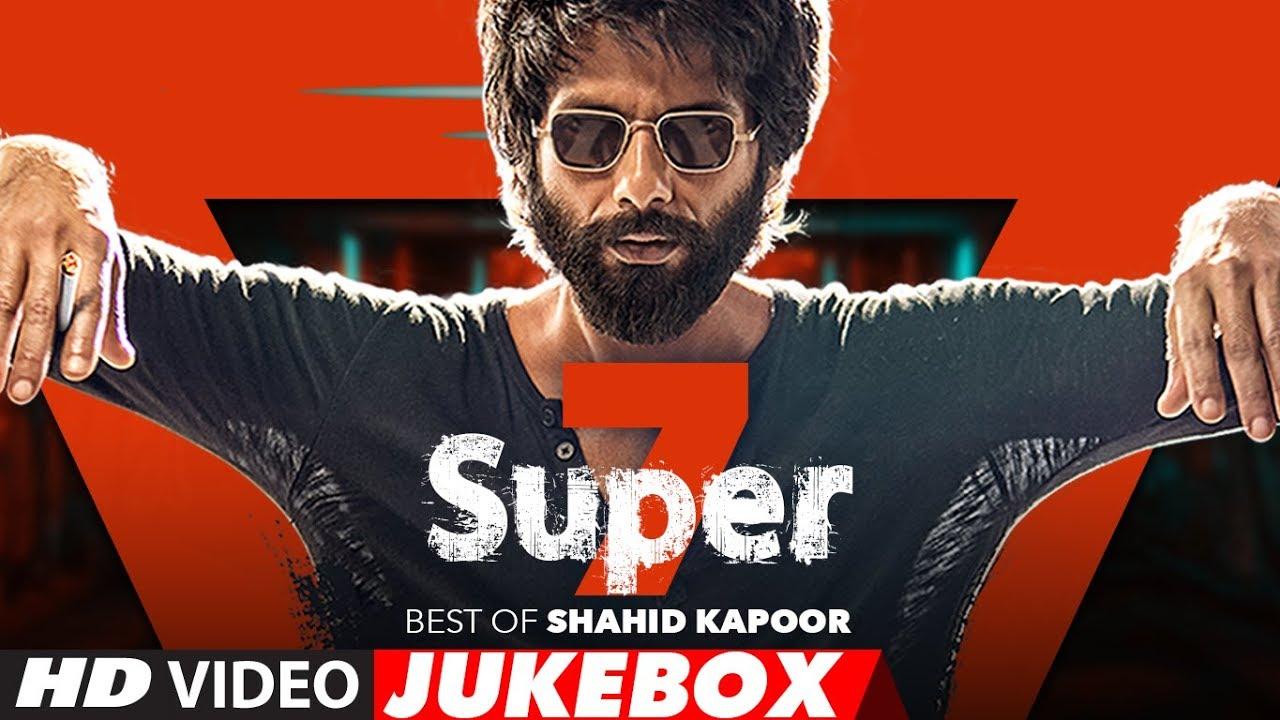 Super 7: Best Of Shahid Kapoor Love Songs | Video Jukebox | T-Series Watch Online & Download Free