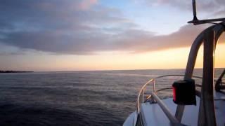 Boating in Iceland. Sigling á Ólöfu.