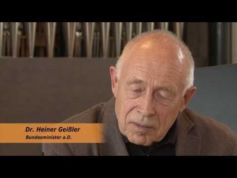 Dr. Heiner Geißler im Interview nach der Semestereröffnungsfeier am 07.10.2011