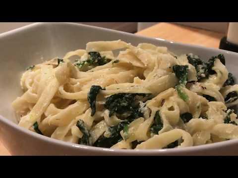 Creamy Spinach And Ricotta Pasta