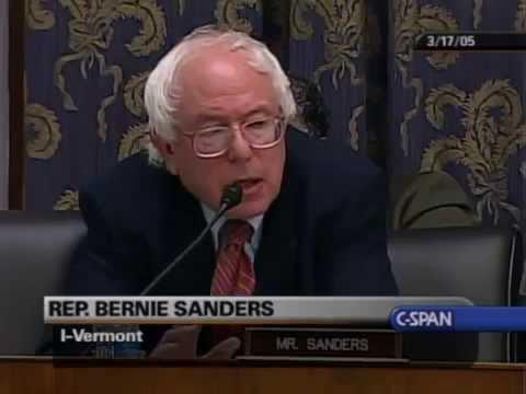 Bernie Sanders v. Bud Selig on Steroids in Baseball (3/17/2005)