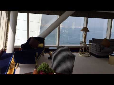 Burj Al Arab panoramic Suite room 1312