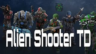 Alien Shooter TD - HD Android Gameplay - Tower Defense Games - Full HD Video (1080p)